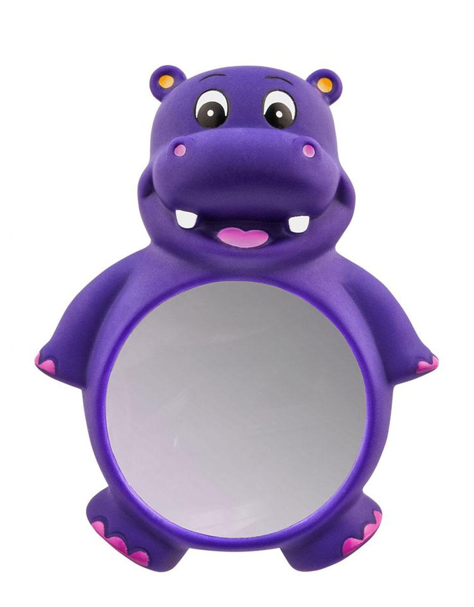 Valiant Зеркало детское для ванной комнаты Бегемотик на присосках