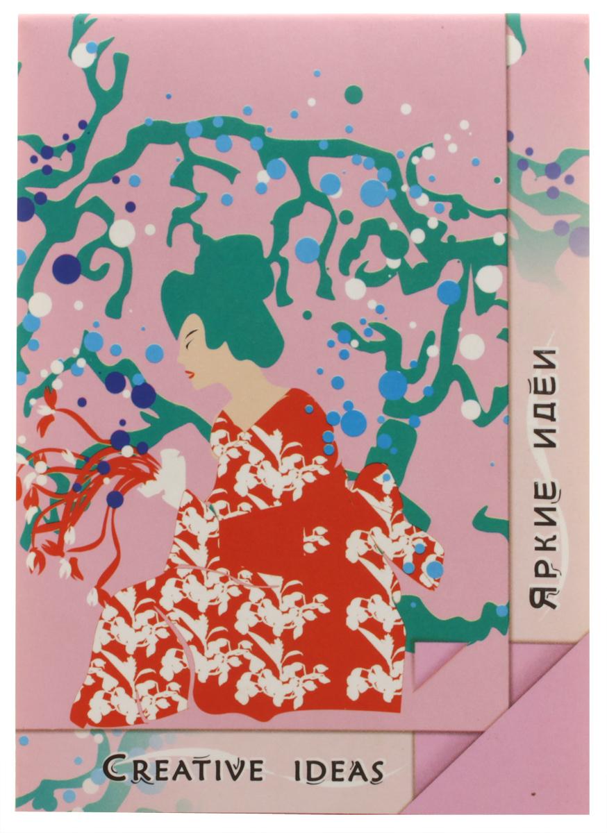Palazzo Блокнот Pink 20 листовПЛ-0820Блокнот Palazzo Pink из серии Creative Ideas отлично подойдет для фиксирования ярких идей. Обложка выполнена из высококачественного картона. Блокнот имеет клеевой переплет. Внутренний блок содержит 20 листов цветной бумаги без разметки.
