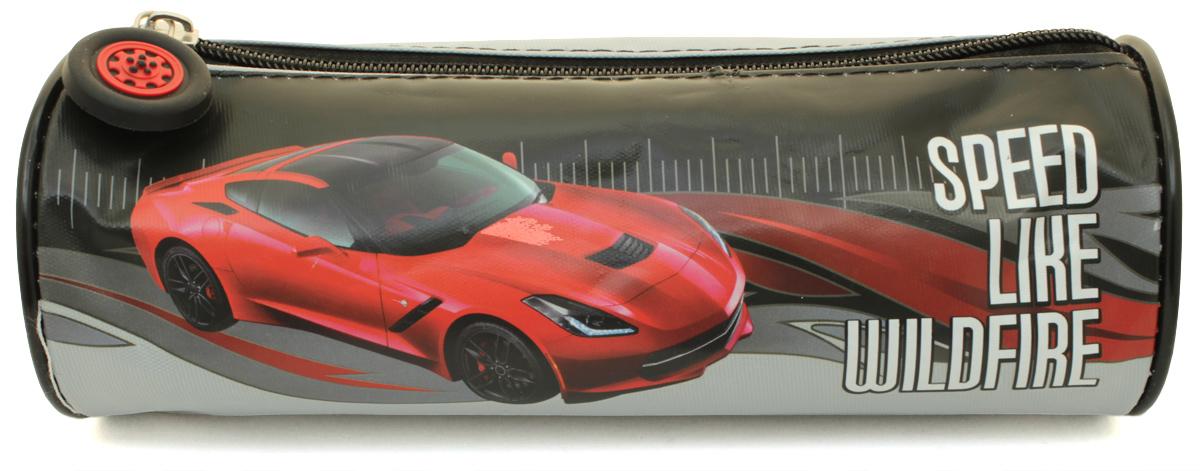 Феникс+ Пенал Красное авто30337Пенал школьный. Без наполнения. Предназначен для хранения письменных принадлежностей. Закрывается на молнию с фигурной собачкой. Размеры: 20.5х6.5х6.5см. Материал: нейлон с запечаткой.