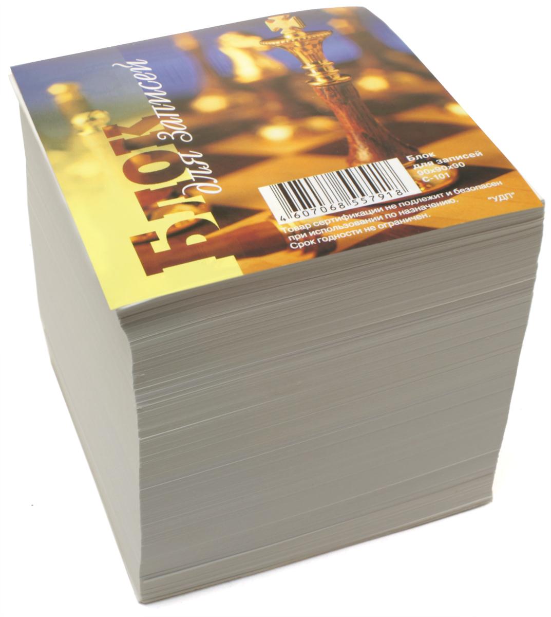 Ульяновский Дом печати Блок бумаги для записей белый С-101 С-042