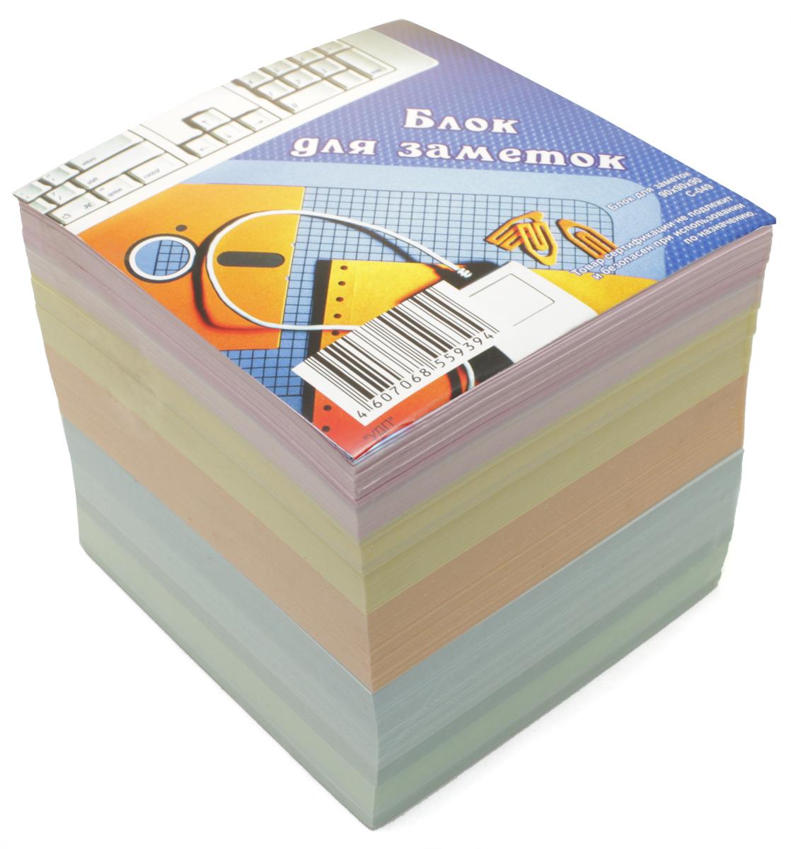 Ульяновский Дом печати Блок бумаги для записей цветной С-049