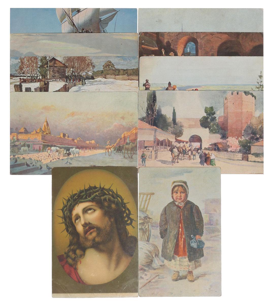 Живопись. Комплект из 10 открыток