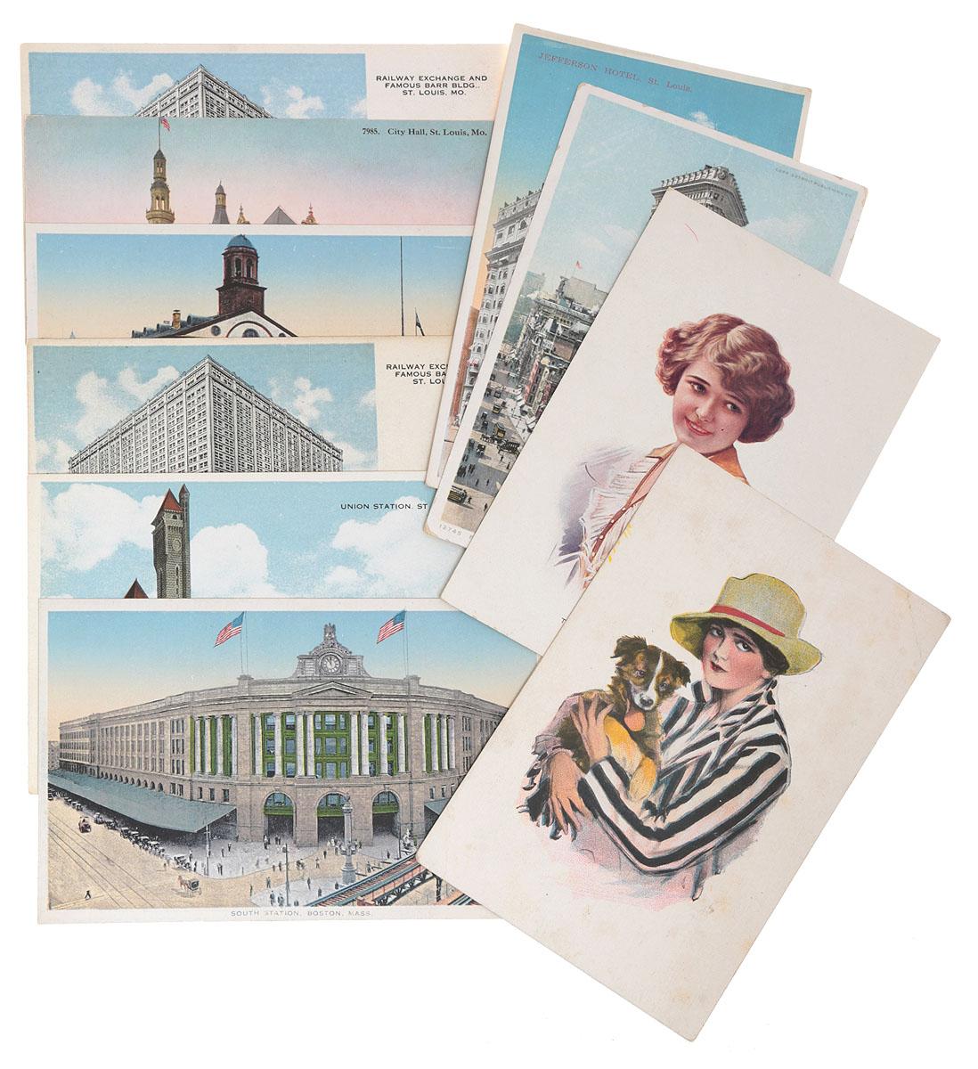 Америка. Комплект из 10 открыток