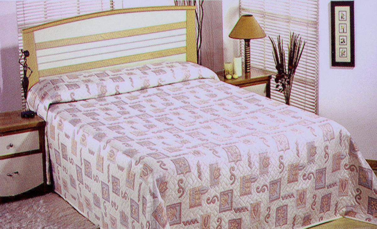 Покрывало Arya Tay-Pen, цвет: розовый, серый, 200 х 240 см1350_розовый-серыйПокрывало Arya Tay-Pen прекрасно оформит интерьер спальни или гостиной. Изделие изготовлено из 100% полиэстера. Жаккардовые покрывала уникальны, так как они практичны и универсальны в использовании. Жаккардовые ткани хорошо сохраняют окраску, слабо подвержены влиянию перепадов температур. Своеобразный рельефный рисунок, который получается в результате сложного переплетения на плотной ткани, напоминает гобелен. Изделие долговечно, надежно и легко стирается. Покрывало Arya Tay-Pen не только подарит тепло, но и гармонично впишется в интерьер вашего дома.