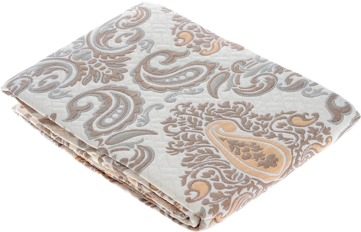Покрывало Arya Tay-Pen, цвет: белый, коричневый, 200 х 240 см. 13501350_белый-коричневыйПокрывало Arya Tay-Pen прекрасно оформит интерьер спальни или гостиной. Изделие изготовлено из 100% полиэстера. Жаккардовые покрывала уникальны, так как они практичны и универсальны в использовании. Жаккардовые ткани, хорошо сохраняют окраску, слабо подвержены влиянию перепадов температур. Своеобразный рельефный рисунок, который получается в результате сложного переплетения на плотной ткани, напоминает гобелен. Изделие долговечно, надежно и легко стирается. Покрывало Arya Tay-Pen не только подарит тепло, но и гармонично впишется в интерьер вашего дома.