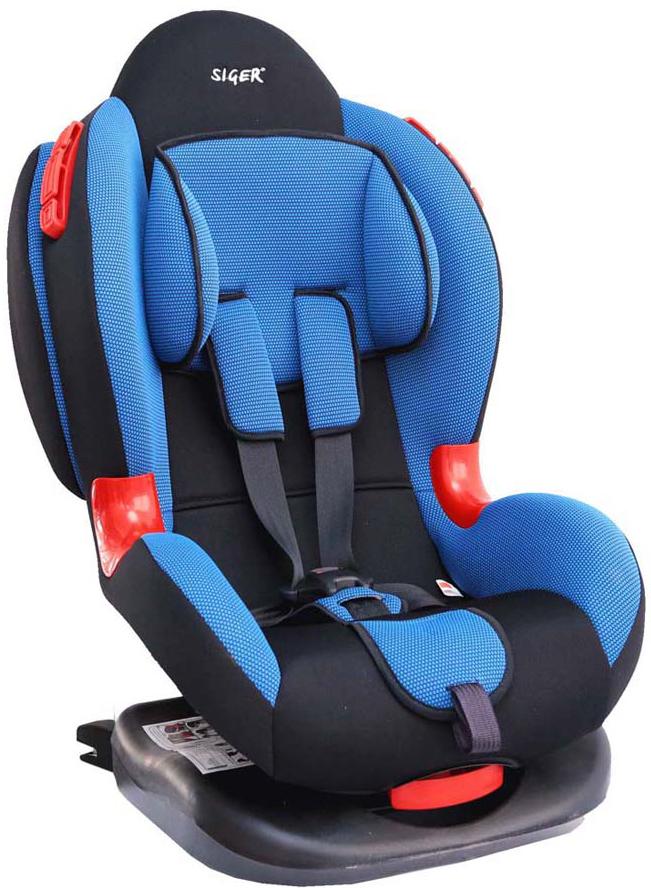 Siger Автокресло Кокон IsoFix цвет синий от 9 до 25 кгKRES0120Автокресло SigeКокон IsoFix относится к возрастной группе 1/2, для детей от 1 года до 7 лет, весом от 9 кг до 25 кг. Мягкий подголовник, специальная ортопедическая спинка и накладки внутренних ремней повышают уровень комфорта во время поездки. Специальные пластиковые накладки и направляющие штатного ремня гарантируют правильное прохождение ремня безопасности. Автокресло Siger Кокон Isofix имеет ярко-выраженную боковую и тыльную защиту головы. Чехол изготовлен из качественного износостойкого и гипоаллергенного материала. Шесть положений регулировки наклона автокресла позволяют ребенку удобно спать в дороге. За счет европейской системы крепления Isofix достигается безошибочная установка кресла в два щелчка. Автокресло крепится к силовому каркасу автомобиля, что обеспечивает повышенную безопасность. Детские удерживающие устройства Siger разработаны и выполнены в России с учетом анатомии российских детей. Двухпозиционная регулировка внутренних ремней позволяет...