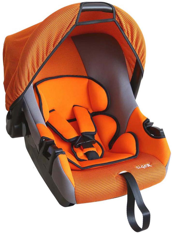 Siger Автокресло Эгида Люкс цвет оранжевый от 0 до 13 кгKRES0074Детское автокресло Siger Эгида. Люкс разработано для детей от рождения и до 1,5 лет, весом до 13 кг. Относится к возрастной группе 0+. Мягкий вкладыш-подголовник обеспечивает дополнительный комфорт во время поездки. Съемный капюшон защищает ребенка от солнца, а удобная ручка позволяет без лишних усилий переносить ребенка, как в обычной люльке. Ярко выраженная боковая защита позволяет повысить уровень безопасности при боковых ударах и резких поворотах. Детские удерживающие устройства Siger разработаны и выполнены в России с учетом анатомии российских детей. Двухпозиционная регулировка центральной лямки позволяет адаптировать внутренние ремни под зимнюю и летнюю одежду ребенка. Съемный чехол изготовлен из нетоксичного гипоаллергенного материала, который безопасен для малыша. Автокресло успешно прошло все необходимые краш-тесты и имеет сертификат соответствия техническому регламенту РФ и таможенному союзу. В детском автомобильном кресле Siger ваш ребенок будет...