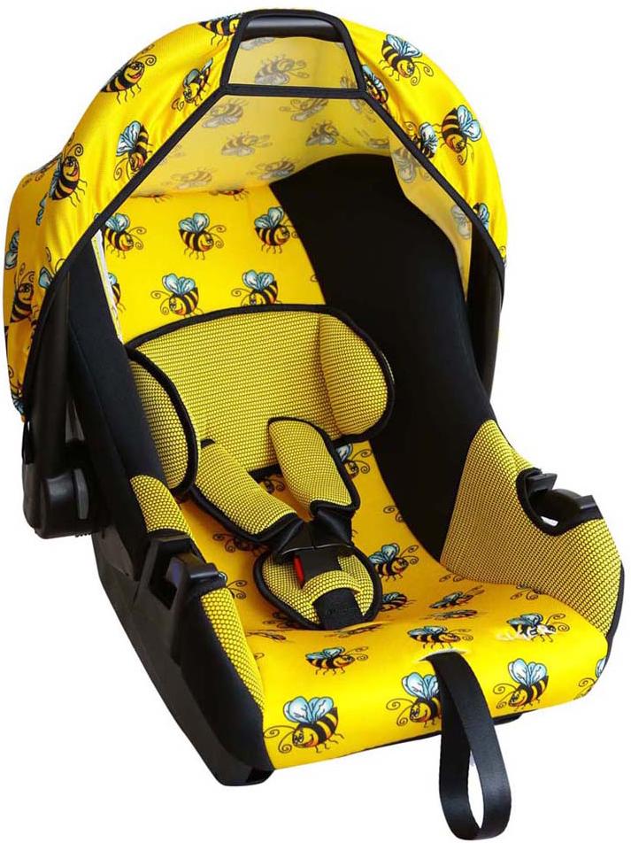 Siger Art Автокресло Эгида Пчелка от 0 до 13 кгKRES0137Детское автокресло Siger Art Эгида. Пчелка разработано для детей от рождения и до 1,5 лет, весом до 13 кг. Относится к возрастной группе 0+. Мягкий вкладыш-подголовник обеспечивает дополнительный комфорт во время поездки. Съемный капюшон защищает ребенка от солнца, а удобная ручка позволяет без лишних усилий переносить ребенка, как в обычной люльке. Ярко выраженная боковая защита позволяет повысить уровень безопасности при боковых ударах и резких поворотах. Детские удерживающие устройства Siger разработаны и выполнены в России с учетом анатомии российских детей. Двухпозиционная регулировка внутренних ремней позволяет адаптировать кресло под зимнюю и летнюю одежду ребенка. Автокресло успешно прошло все необходимые краш-тесты и имеет сертификат соответствия техническому регламенту РФ и таможенному союзу. В детском автомобильном кресле Siger ваш ребенок будет путешествовать в безопасности и с удовольствием!