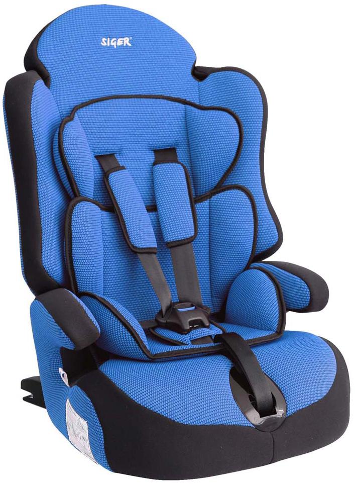 Siger Автокресло Прайм IsoFix цвет синий от 9 до 36 кг