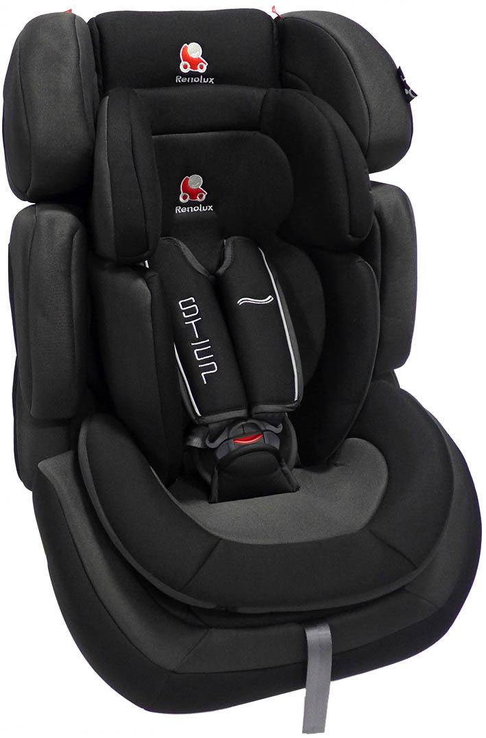 Renolux Автокресло Step 123 Total Black295555Детское автокресло Renolux модель Step 1/2/3 возрастная группа 1/2/3 (от 9 до 36 кг). Надежное детское автокресло предназначено для безопасной перевозки в автомобиле детей весом от 9 до 36 кг, одобрено в соответствии со стандартами ECE R44/04. Супер-адаптируемое кресло, которое растет вместе с вашим ребенком. Широкое и удобное, в нем малыш себя будет чувствовать комфортно даже в длительных путешествиях. Вкладыш-адаптер для группы 1 состоит из двух съемных частей, изготовлен с применением пенополиуретана высокой плотности. Эта модель автокресла получила бронзовый знак отличия по версии английского журнала Mother&Baby (Мама и малыш) в 2015 году. Выбирая эту модель кресла, вы можете быть уверены, что она спроектирована и произведена во Франции. Особенности: подголовник и боковая защита регулируется по ширине и высоте, встроенный в базу усилитель наклона, усиленная боковая защита, внутренние ремни безопасности (регулируются автоматически, вместе с регулировкой высоты...
