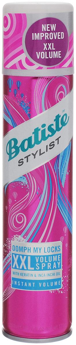 Batiste XXL VOLUME SPRAY Спрей для экстра объема волос 200 мл503601Сухой шампунь Batiste Volume XXL придает упругость и объем, быстро очищает и освежает волосы. Сухой шампунь устраняет жирность корней, придавая скучным и безжизненным волосам необходимый блеск, без использования воды. Быстро освежает и повышает силу волос, придает телу волоса и текстуру и оставляет ощущение чистоты и свежести. Сухой шампунь идеален для использования, когда: - у вас нет времени мыть голову обычным шампунем, - у вас много других дел, - ваша жизнь - сплошной круговорот событий. Сухой шампунь быстро и эффективно абсорбирует грязь и жир, тем самым очищая волосы. Способ применения: Шаг 1. Распылите сухой шампунь на волосы на расстоянии 30 см. Шаг 2. Помассируйте голову несколько минут. Во время массажных движений пальцами сухой шампунь проникает в стержень волоса, абсорбирует грязь и жир, тем самым восстанавливая его. Шаг 3. Причешитесь и ваши волосы снова мягкие и чистые. Товар сертифицирован.