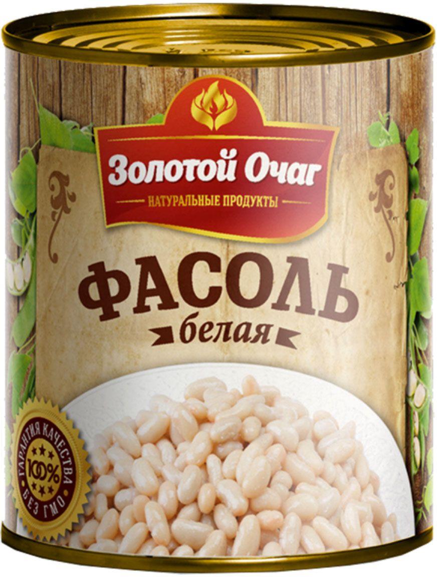 Золотой Очаг фасоль белая консервированная, 360 г