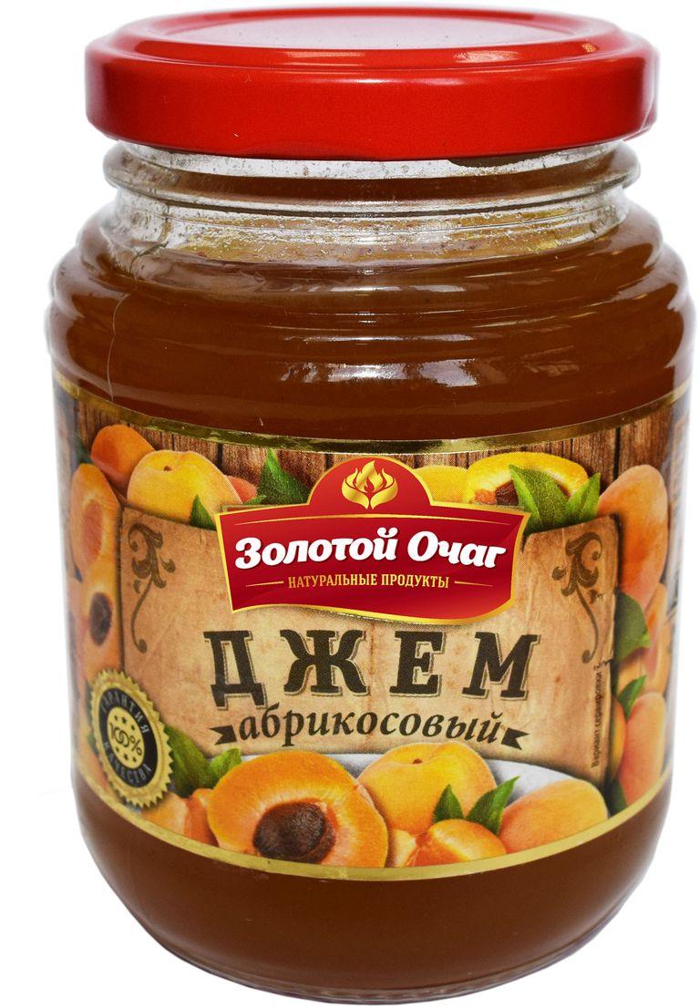 Золотой Очаг джем абрикосовый, 320 г4607816070782100% натуральный продукт. В составе отсутствуют усилители вкуса, ароматизаторы.