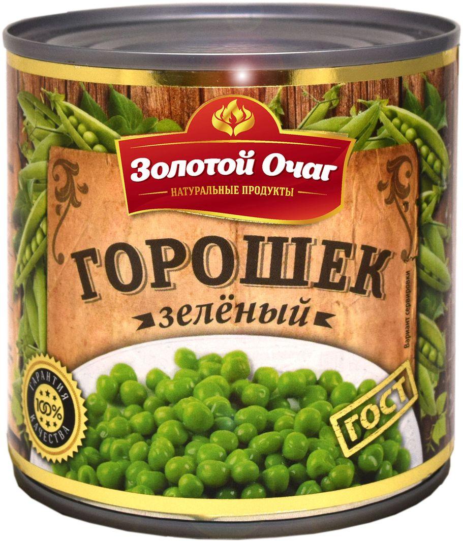 Золотой Очаг зеленый горошек, 400 г