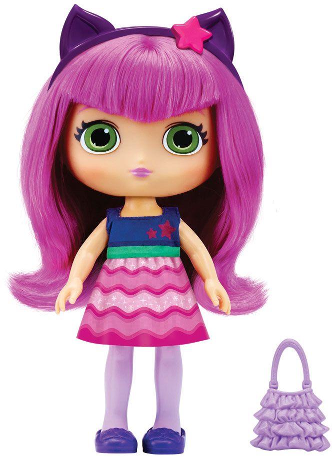 Little Charmers Кукла Hazel71701Очаровательная кукла Hazel станет лучшей подружкой вашей малышки. Куколка одета в короткое платье с синим верхом и фиолетово-сиреневым низом. На ногах куклы симпатичные фиолетовые туфельки. Модный образ дополняют сиреневый ободок с розовой звездочкой и розовая сумочка. У куклы длинные розовые волосы, которые можно расчесывать и заплетать из них различные прически. Выразительный внешний вид и аккуратное исполнение куклы делает ее идеальным подарком для любой девочки. Порадуйте свою малышку таким великолепным подарком! Хэйзл (Hazel) - одна из главных героинь, ученица школы чародейства. Она храбрая и дружелюбная, у нее озорной, энергичный характер и она всегда открыта для новых приключений. Хэйзл всегда готова прийти на помощь другим и старается изо всех сил. Она любит моду, единорогов и играть в принцесс - как и все маленькие девочки.