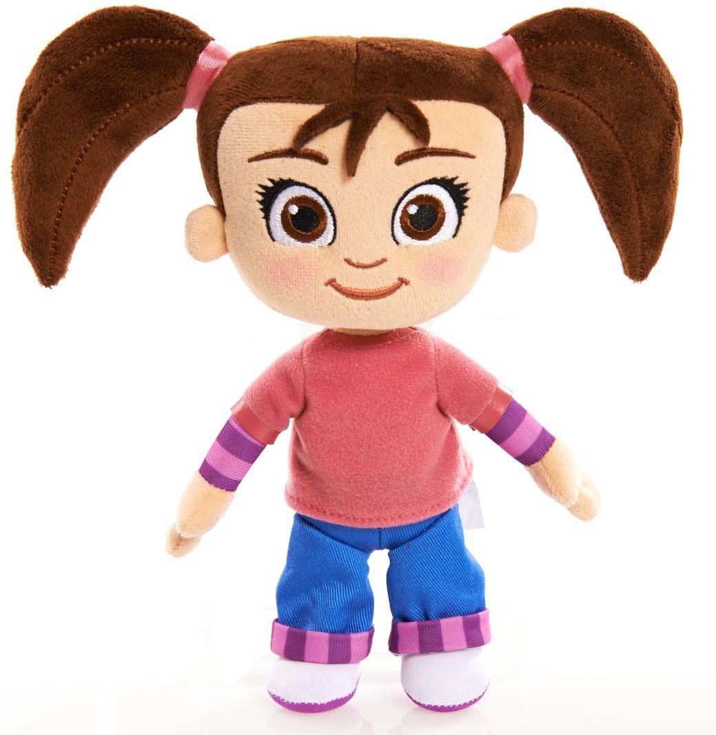 Kate and Mim-Mim Мягкая игрушка Катя73101Катя - главная героиня нового детского мультфильма Катя и Мим-Мим.Мягкая кукла - это отличный подарок, который порадует не только поклонницу мультсериала, повествующего о путешествиях маленькой девочки по стране фантазии Мимилу, но и абсолютно всех, кто любит милые, добрые плюшевые игрушки. Кукла изготовлена только из мягких текстильных материалов, без использования пластиковых деталей. Симпатичное улыбчивое личико вышито цветными нитками, наполнитель - чистый гипоаллергенный синтепон. Благодаря отсутствию жестких деталей, игрушка совершенно безопасна даже для маленького ребенка, она очень приятна на ощупь, малыш может брать её с собой в кроватку без риска пораниться во сне. Игрушку можно стирать с использованием мягких моющих средств.