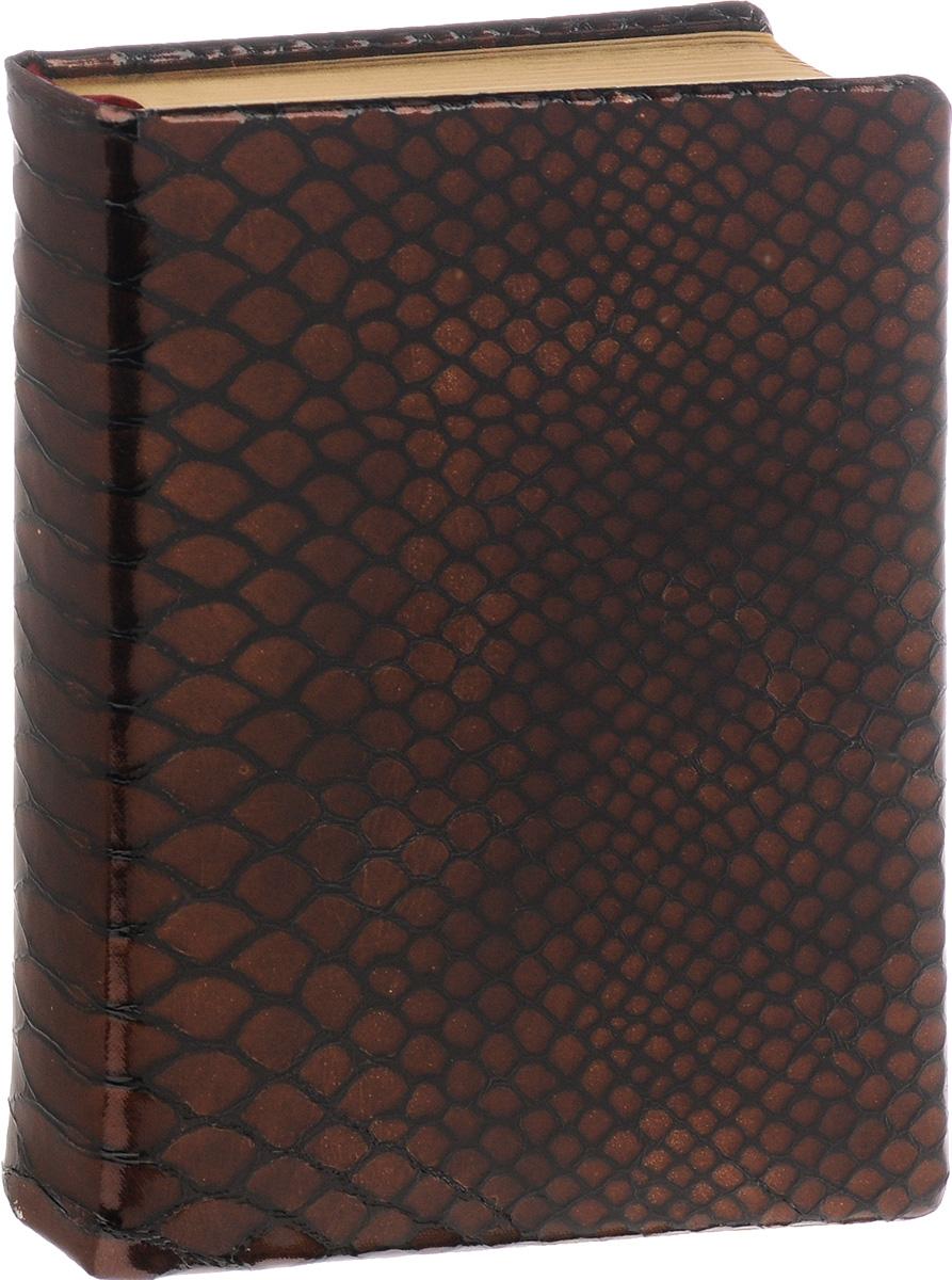 Bruno Visconti Ежедневник Strada полудатированный 208 листов в линейку цвет коричневый