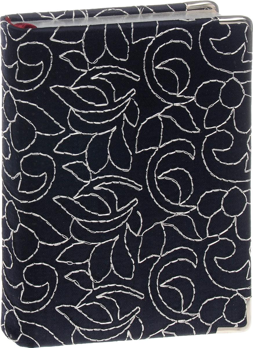 Bruno Visconti Ежедневник Riviera датированный 208 листов цвет синий3-003/327Дизайнерский ежедневник Bruno Visconti Riviera - это прекрасный деловой атрибут,который идеально подойдет любой женщине или девушке для ежедневного ведения записей о делах, планах и для других заметок. Аксессуар выполнен в твердом переплете декорирован текстилем темно-синего цвета и дополнен декором в виде серебряных металлических уголков. Контрастные, слегка небрежные стежки серебристыми нитями складываются в абстрактный орнамент из цветочных элементов. Каждая страница ежедневника имеет числовую нумерацию каждого дня нового месяца. В нижней части страницы находится три строчки для номеров телефонов и валюты. На первых страницах ежедневника представлен информационный блок. Он включает временные зоны стран, аэропорты Европы, международные телефонные коды городов России, СНГ, Балтии, цифровые коды субъектов РФ и национальные праздники. В конце ежедневника расположена телефонная книга в алфавитном порядке. Универсальные ежедневники Bruno Visconti Riviera ...