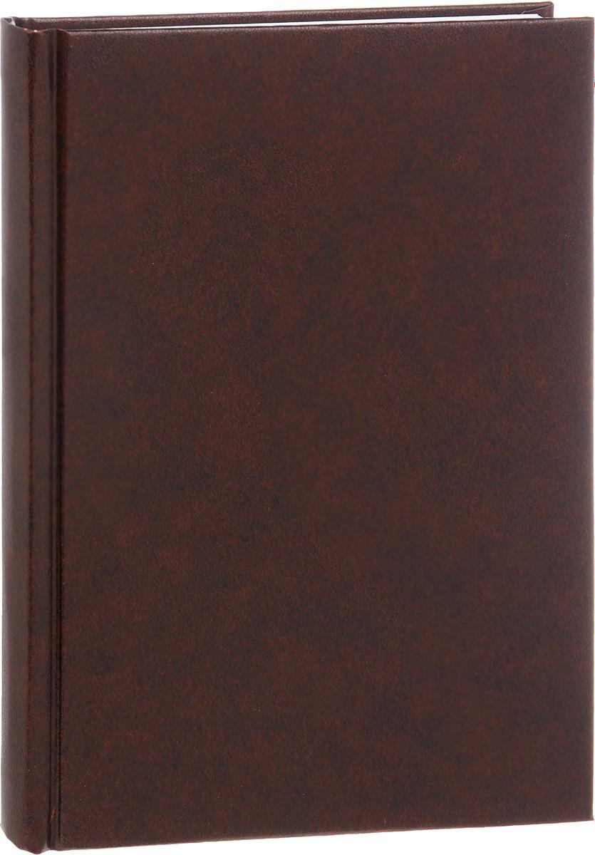 Альт Ежедневник Ideal New недатированный 136 листов в линейку цвет коричневый