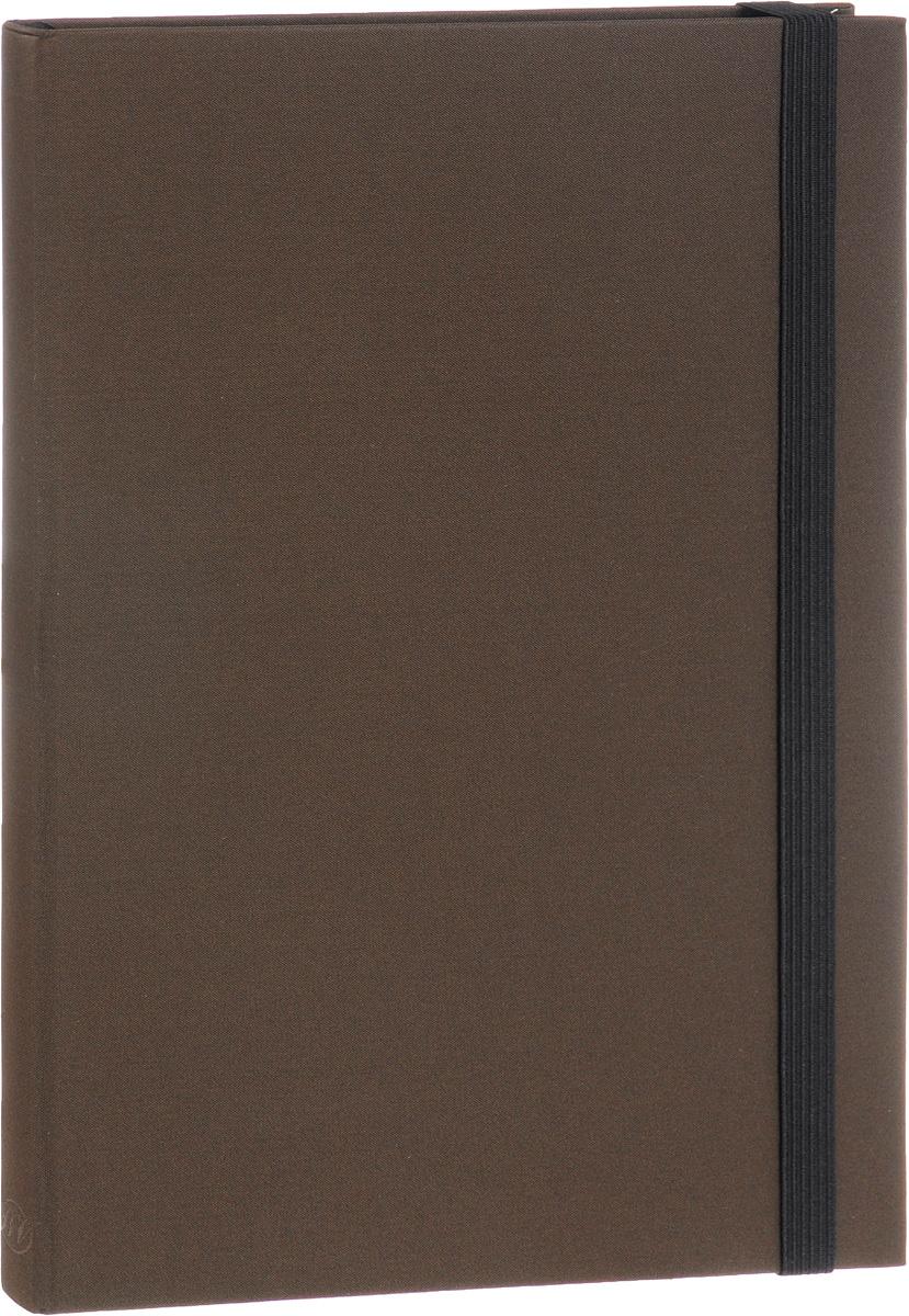 Bruno Visconti Еженедельник Tango полудатированный 160 листов в линейку цвет коричневый