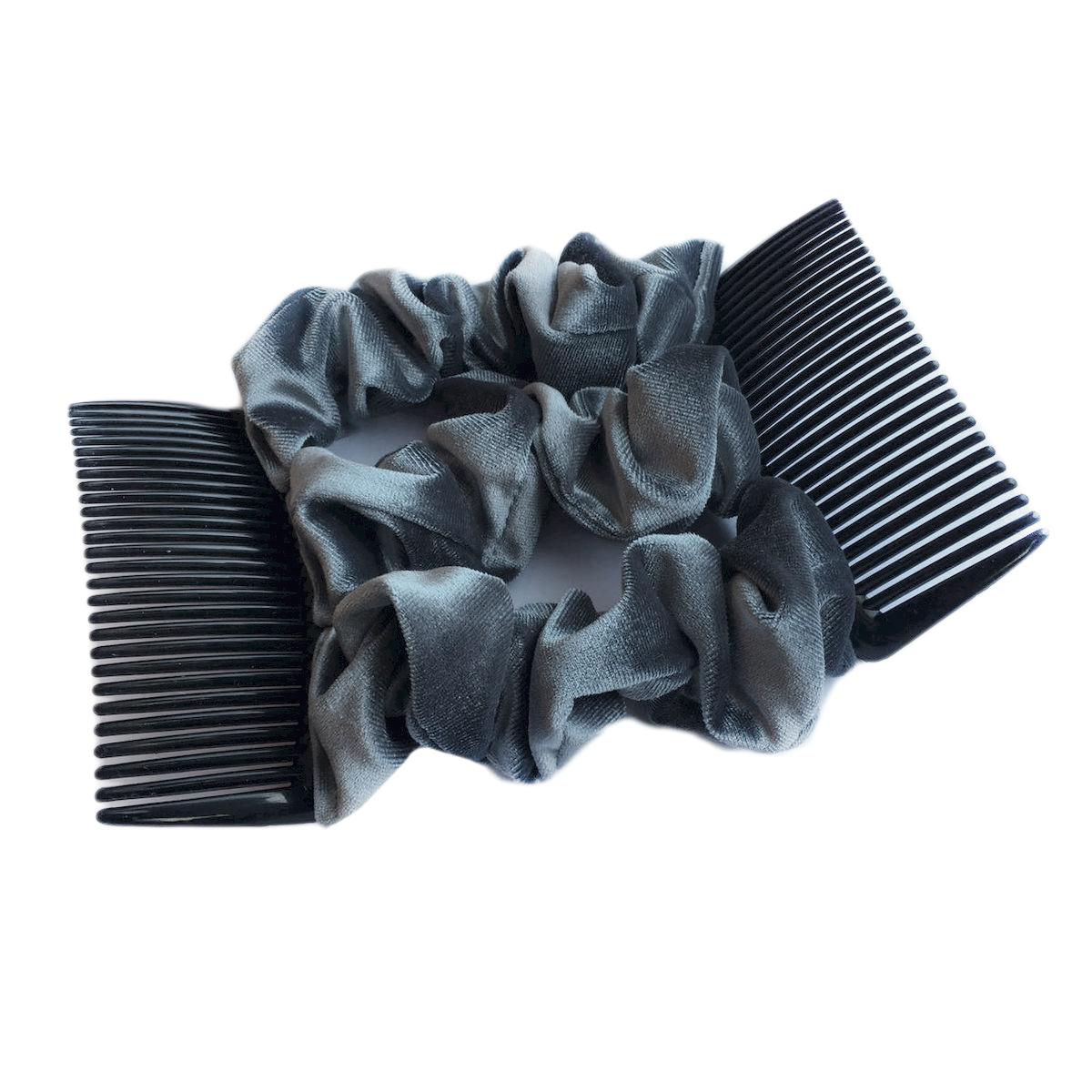 Montar Заколка Монтар, сераяЗМТ_срУдобная и практичная MONTAR напоминает Изи Коум. Подходит для любого типа волос: тонких, жестких, вьющихся или прямых, и не наносит им никакого вреда. Заколка не мешает движениям головы и не создает дискомфорта, когда вы отдыхаете или управляете автомобилем. Каждый гребень имеет по 20 зубьев для надежной фиксации заколки на волосах! И даже во время бега и интенсивных тренировок в спортзале Изи Коум не падает; она прочно фиксирует прическу, сохраняя укладку в первозданном виде. Небольшая и легкая заколка поместится в любой дамской сумочке, позволяя быстро и без особых усилий создавать неповторимые прически там, где вам это удобно. Гребень прекрасно сочетается с любой одеждой: будь это классический или спортивный стиль, завершая гармоничный облик современной леди. И неважно, какой образ жизни вы ведете, если у вас есть MONTAR, вы всегда будете выглядеть потрясающе. Применение: 1) Вставьте один из гребней под прическу вогнутой стороной к поверхности головы. ...