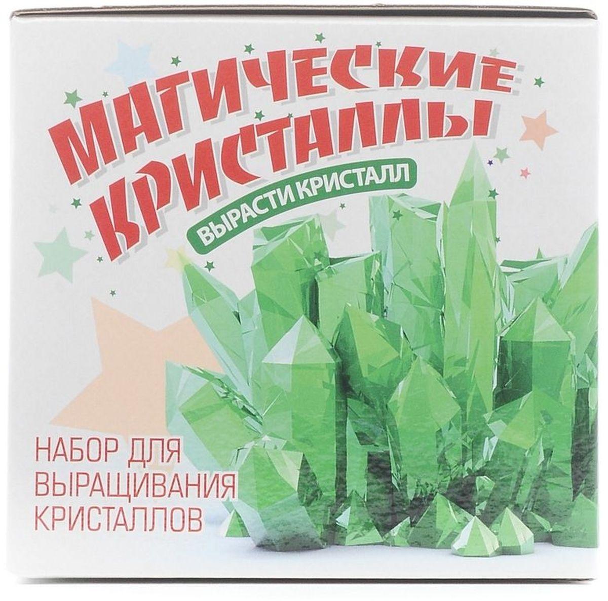 Висма Набор для выращивания кристаллов Магические кристаллы Изумруд средний
