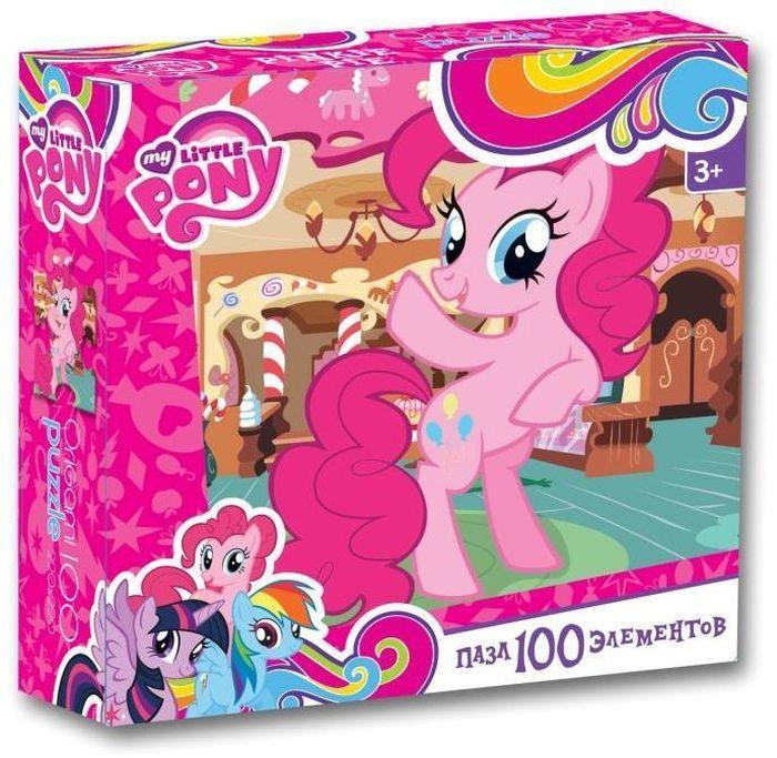 Оригами Пазл для малышей My Little Pony 0209902099Пазл на 100 элементов станет приятным сюрпризом для вашего ребенка! Собирание пазлов способствует развитию образного и логического мышления, а герои мульт-сериала «My little pony» сделают процесс сборки веселым и увлекательным. Герой этого пазла – Пинкий Пай. Она умеет смешить и радовать своих друзей сутки напролет. С удовольствием веселит всех окружающих и старается сделать каждого чуточку счастливее. Пинки Пай всегда найдет причину для праздника!