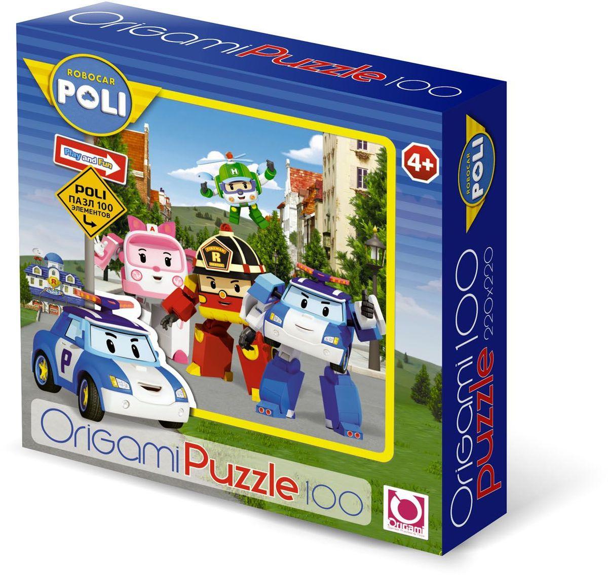 Оригами Пазл для малышей Robocar 05899