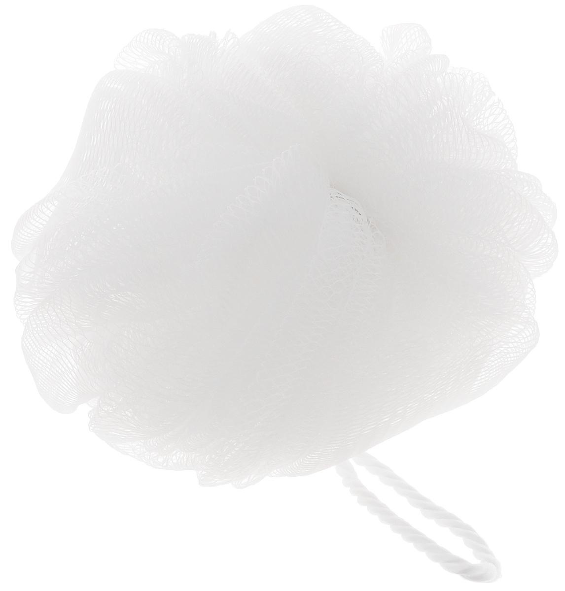 Мочалка Ikeep Сфера, цвет: белый, диаметр 13 смТП102_белыйМочалка Ikeep Сфера, выполненная из полиэстера, предназначена для мягкого очищения кожи. Она станет незаменимым аксессуаром ванной комнаты. Мочалка отлично пенится, обладает легким пилинговым и массажным эффектом, идеально подходит для нежной и чувствительной кожи. На мочалке имеется удобная петля для подвешивания. Диаметр: 13 см.