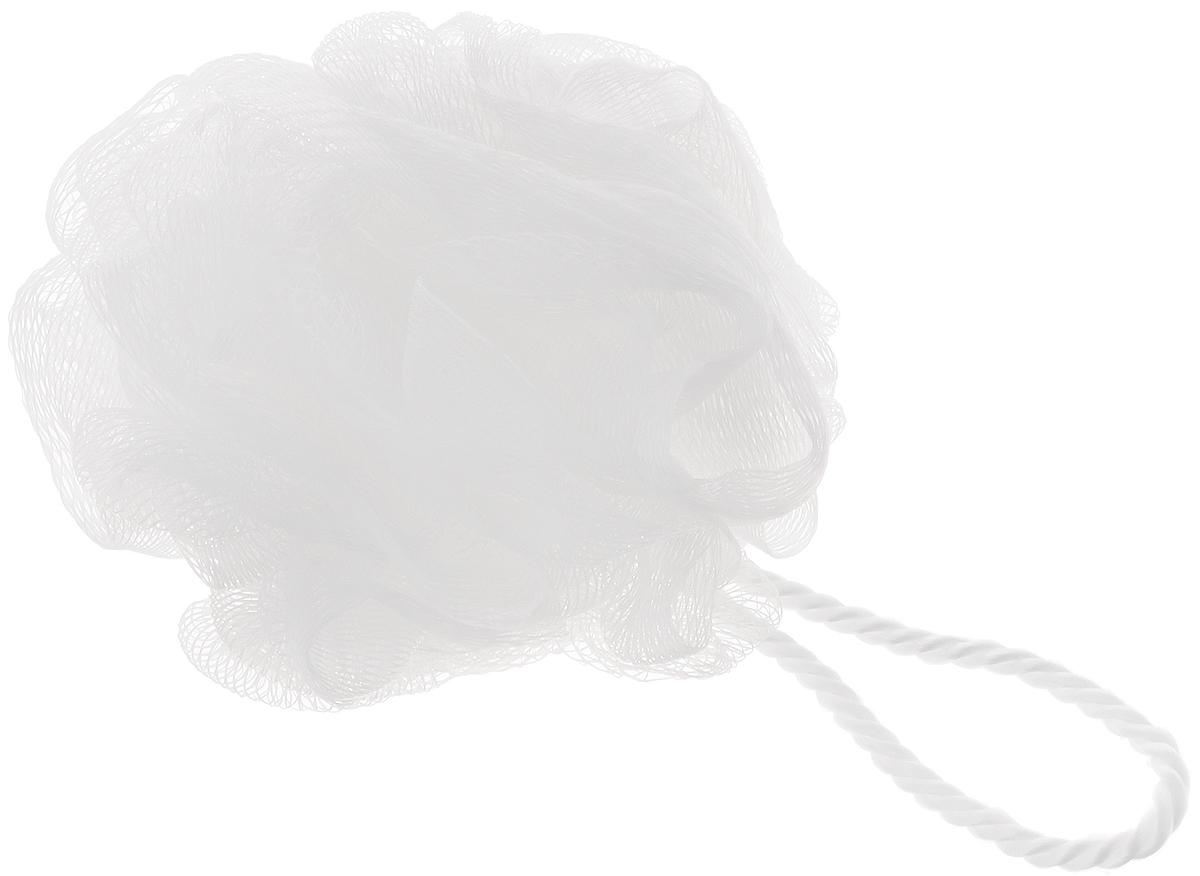 Мочалка Ikeep Роза, цвет: белый, диаметр 13 смТП101_белыйМочалка Ikeep Роза, выполненная из полиэстера, предназначена для мягкого очищения кожи. Она станет незаменимым аксессуаром ванной комнаты. Мочалка отлично пенится, обладает легким пилинговым и массажным эффектом, идеально подходит для нежной и чувствительной кожи. На мочалке имеется удобная петля для подвешивания. Диаметр: 13 см.