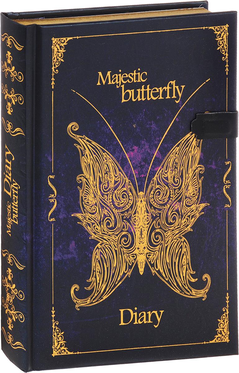 Bruno Visconti Ежедневник Бабочки Фантазия-1 полудатированный 192 листа
