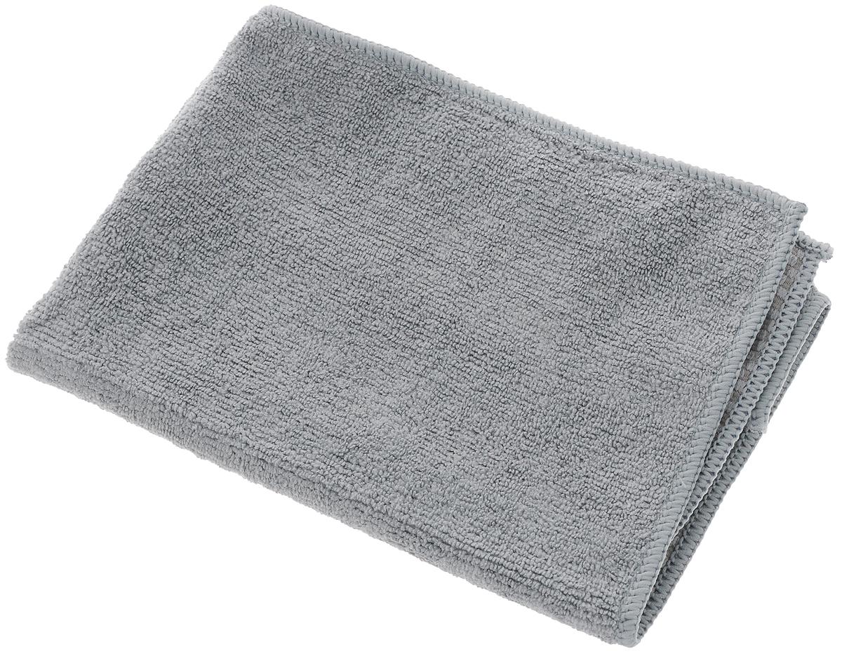 Салфетка универсальная Чистюля, цвет: серый, 35 х 40 смМФ004_серыйУниверсальная салфетка Чистюля, изготовленная из микрофибры (полиэстер и полиамид), предназначена для домашней и профессиональной уборки помещений.Изделия обладают высокой износоустойчивостью и рассчитаны на многократное использование. Можно стирать с любым моющим средством без кондиционера при температуре до 60°С. Благодаря специальной структуре производить уборку возможно как с применением бытовых моющих средств, так и без них. Размер салфетки: 35 х 40 см.