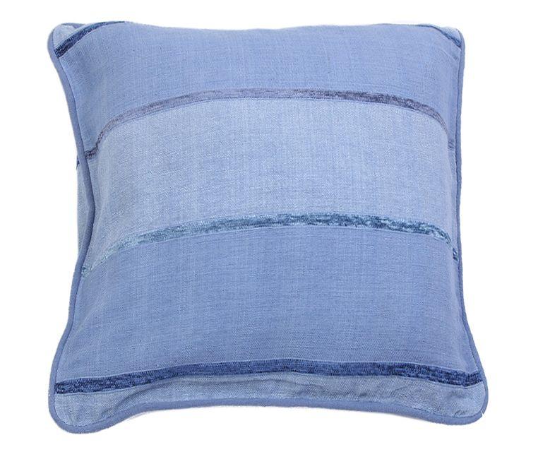 Наволочка декоративная Arloni, самотканная, цвет: синий, 40 х 40 см. Нв/704/2Нв/704/2Наволочка самотканная 40*40