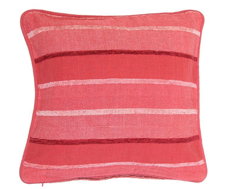 Наволочка декоративная Arloni, самотканная, цвет: красный, 40 х 40 см. Нв/703/14Нв/703/14Наволочка самотканная 40*40