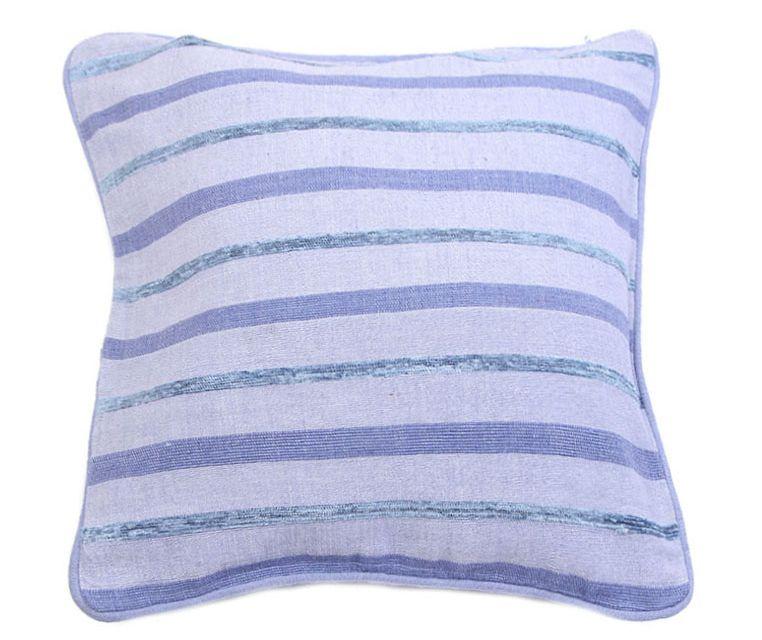 Наволочка декоративная Arloni, самотканная, цвет: светло-голубой, 40 х 40 см. Нв/702/9Нв/702/9Наволочка самотканная 40*40