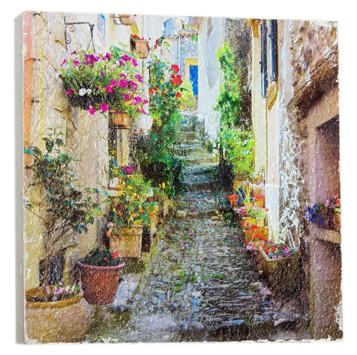 Картина Милая улочка Италии, 48 х 48 см1036-48-48