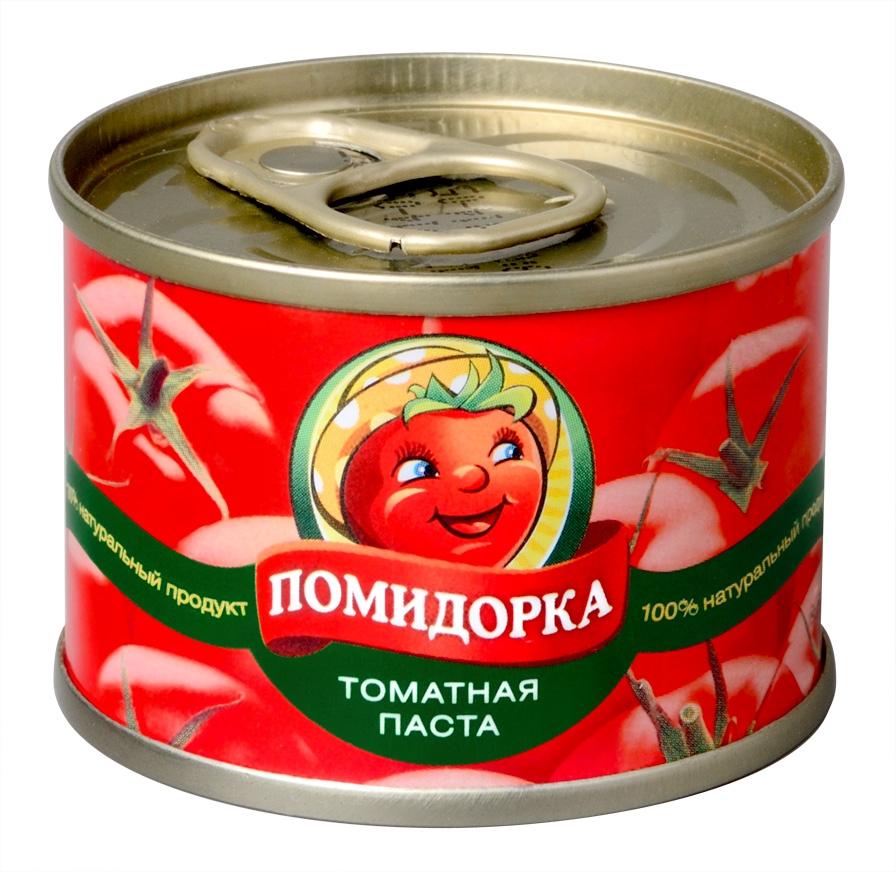 Помидорка томатная паста, 70 г. 1074