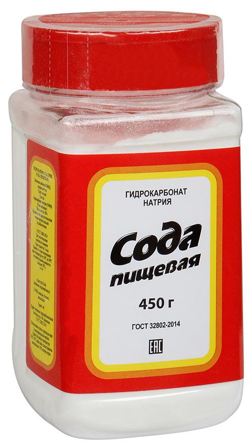 Salina сода пищевая пэт-банка, 450 г