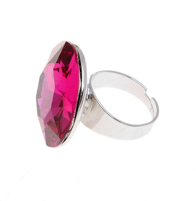 Кольцо коктейльное Розовая пантера от Arrina. Крупный австрийский кристалл розового цвета, бижутерный сплав серебряного тона. Гонконг, 2000-е гг.СБУ83130Великолепное коктейльное-кольцо Розовая пантера от Arrina. Крупный австрийский кристалл розового цвета, бижутерный сплав серебряного тона. Гонконг, 2000-е гг. Размер регулируется. Сохранность превосходная, изделие не было в использовании.