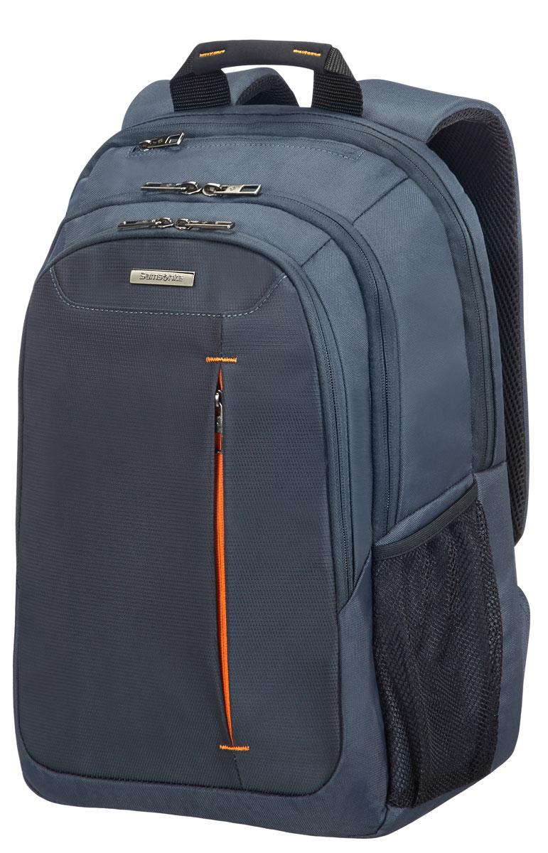 Рюкзак для ноутбука Samsonite, цвет: серый, 22 л, 31 х 21 х 44,5 см88U*08005Коллекция GUARDIT является идеальным решением для пользователей ноутбуков,объединяет в себе базовую функциональность с отличным внешним видом из полиэстера.Особенности коллекции: передний караман с внутренней организацией,умный карман, верхняя ручка с прокладкой из неопрена.