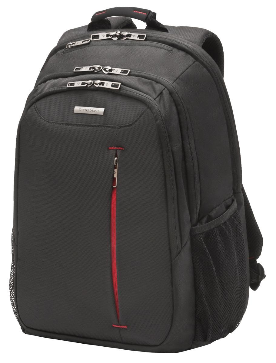 Рюкзак для ноутбука Samsonite, цвет: черный, 22 л, 31 х 21 х 44,5 см88U*09005Коллекция GUARDIT является идеальным решением для пользователей ноутбуков,объединяет в себе базовую функциональность с отличным внешним видом из полиэстера.Особенности коллекции: передний караман с внутренней организацией,умный карман, верхняя ручка с прокладкой из неопрена.