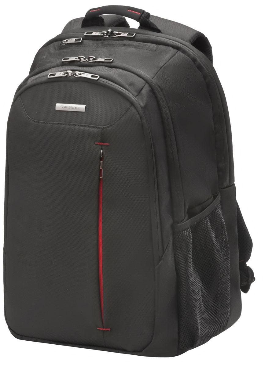 Рюкзак для ноутбука Samsonite, цвет: черный, 27 л, 32 х 22 х 48 см88U*09006Коллекция GUARDIT является идеальным решением для пользователей ноутбуков,объединяет в себе базовую функциональность с отличным внешним видом из полиэстера.Особенности коллекции: передний караман с внутренней организацией,умный карман, верхняя ручка с прокладкой из неопрена.