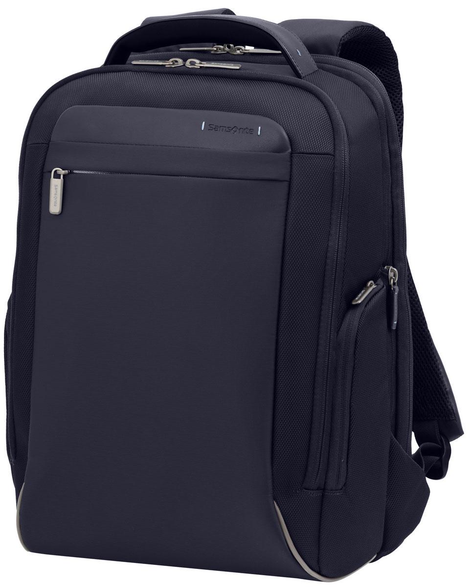 Рюкзак для ноутбука Samsonite, цвет: черный, 23/26 л, 36 х 23 х 46,5 см80U*09008Адаптируемое отделение для ноутбука Perfekt Fit, идеально подходящее для современных ноутбуков MacBook и Ultrabook