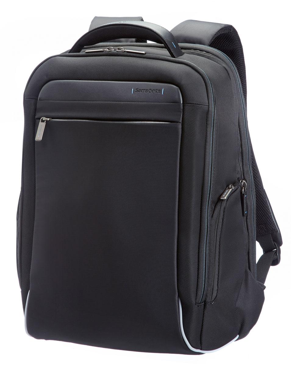 Рюкзак для ноутбука Samsonite, цвет: черный, 27,5/30 л, 37 х 25 х 50 см80U*09009Адаптируемое отделение для ноутбука Perfekt Fit, идеально подходящее для современных ноутбуков MacBook и Ultrabook