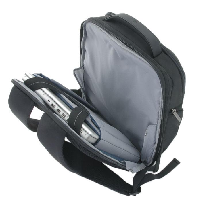 Рюкзак для ноутбука Samsonite, цвет: черный, 16/18,5 л, 35 х 22 х 44 см80U*09015Адаптируемое отделение для ноутбука Perfekt Fit, идеально подходящее для современных ноутбуков MacBook и Ultrabook