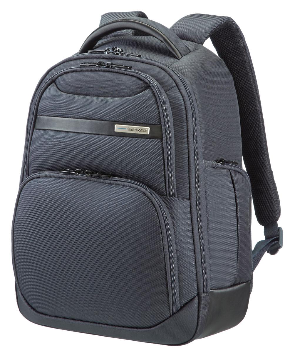 Рюкзак для ноутбука Samsonite, цвет: темно-серый, 15 л, 31,5 х 17,5 х 42 см39V*08007Сочетание прочного полиэстера и элементов полиуретана с отполированной металлической фурнитурой;потайной карман для хранения; удобные и хорошо организованные модели рюкзаков