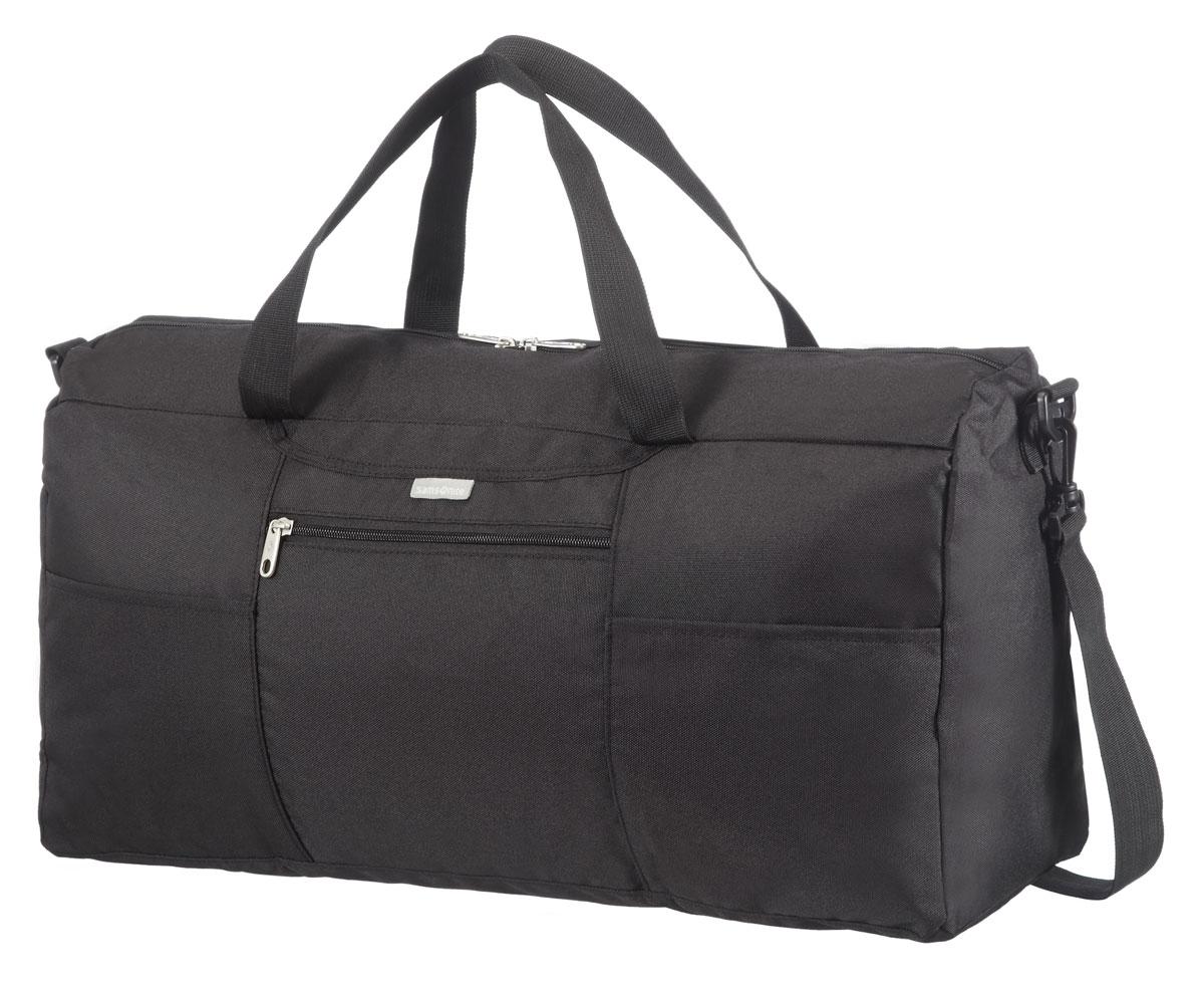 Сумка дорожная Samsonite, цвет: черный, 18 л, 24 х 17 х 14,5 смU23*09612помогут эффективно упаковать и перевезти вещи