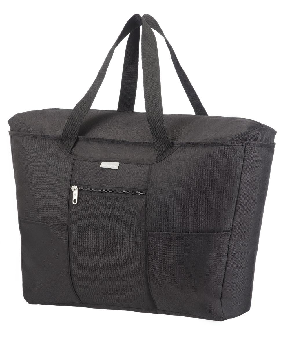 Сумка дорожная Samsonite, цвет: черный, 18 л, 24,5 х 13,5 х 17 смU23*09613помогут эффективно упаковать и перевезти вещи