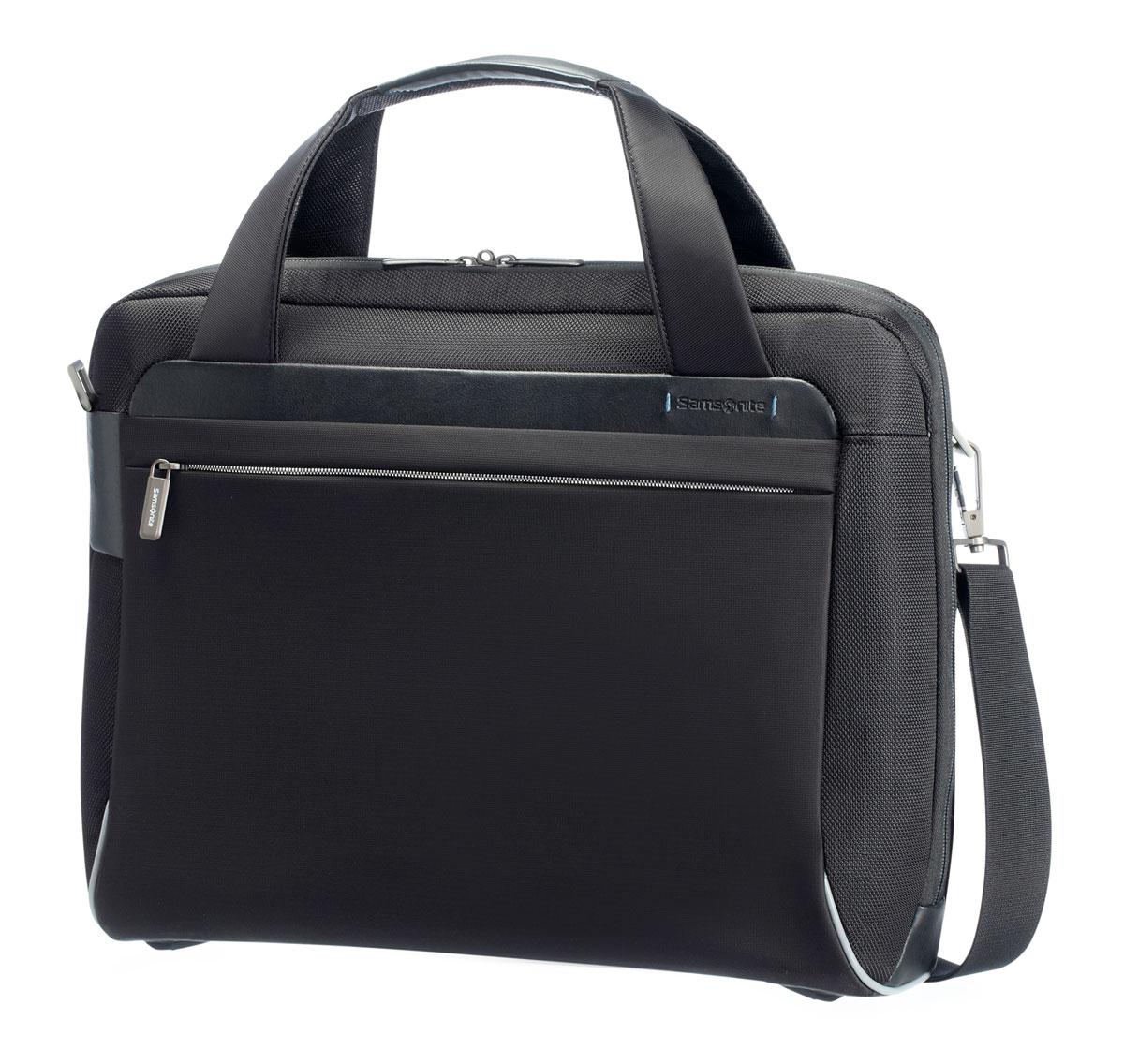 Сумка для ноутбука Samsonite, цвет: черный, 15 л. 80U*0900480U*09004
