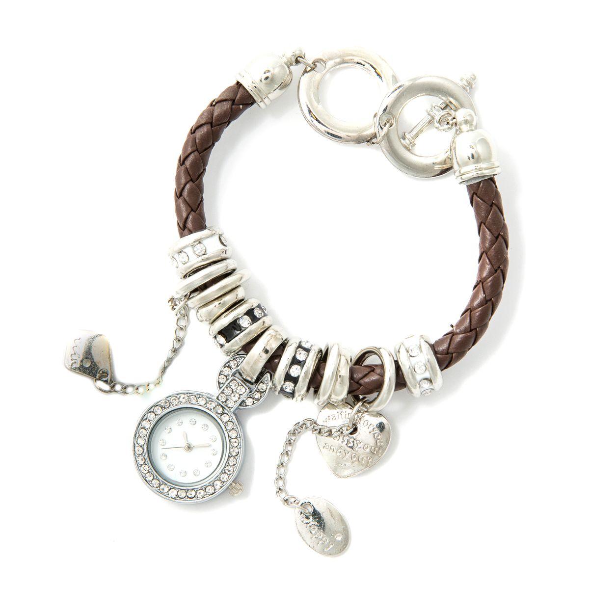 Часы наручные женские Mitya Veselkov. BRASW-BROBRASW-BROНаручные женские часы оснащены кварцевым механизмом. Корпус часов выполнен из нержавеющей стали. Модель оснащена оригинальным ремешком.